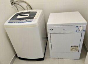 Mint apt-size  GE portable washer & dryer set .... canDeliver