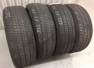 Bridgestone All Season Tires 225/65/17