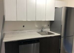 New 2 Bedroom—Power Included, W/D in suite— May/June