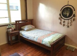 King Single bed Frame and mattress $80 Bankstown Bankstown Area Preview