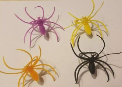 BRAND NEW ..Halloween Spider Cupcake Rings in Multiple colors. SOLD BY THE DOZEN](Make Halloween Cupcakes)