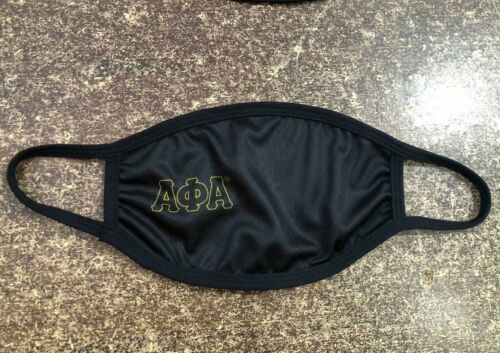 ALPHA PHI ALPHA FACE MASK, ALPHA FACE MASK , ALPHA PHI ALPHA FRATERNITY INC
