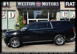 2016 Chevrolet Suburban LTZ*SUNROOF*LEATHER*BTOOTH*NAVI*DVD*REV