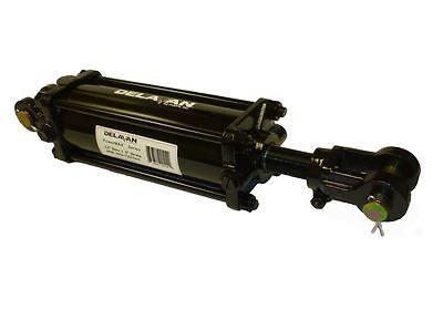 Delavan Pml3508-125asae 3.5 X 8 Hydraulic Tie-rod Cylinder Asae Certified