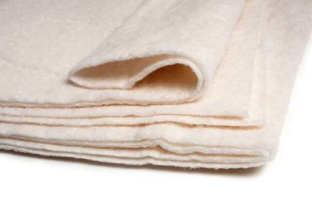 Heirloom Premium Cotton Batting/Wadding 45 x 60in (Crib)