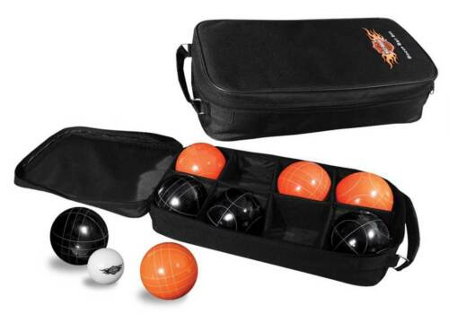 Harley-Davidson Bocce Ball Set Black & Orange NEW 66225