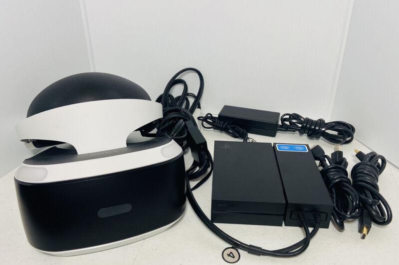 Sony PlayStation VR (PSVR) PS4 Headset bundle