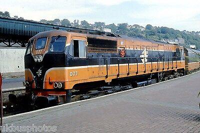 CIE 077 Cork 2003 Eire Rail Photo