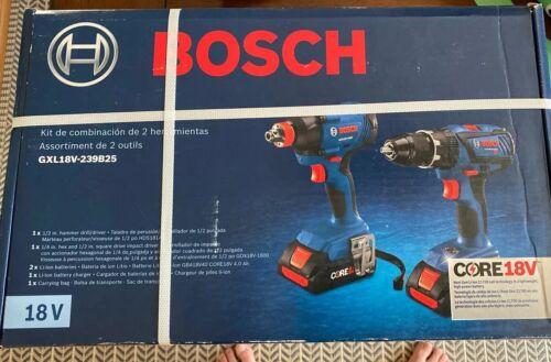 Brand NEW!!! Bosch CORE18V 2-Tool Power Tool Combo Kit w/ So