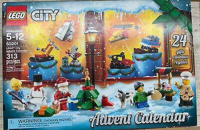 ✅ LEGO City Advent Calendar 60201 313 Pcs, Open Box, Sealed Bags