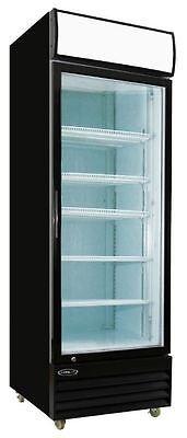 Kool-it 23cf Commercial 1 Door Glass Refrigerator Display Cooler Merchandiser