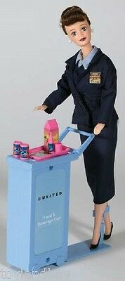 Flight Attendant Doll United Continental Merger Airlines 11