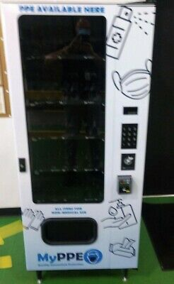 Brand New Never Used Vending Machine With Credit Card Reader. 110 Volt