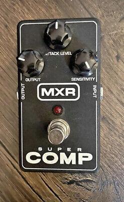 MXR M132 SUPER COMP Compressor Guitar Effects Pedal / Stomp Box