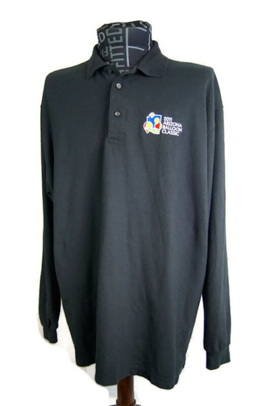 2011 Arizona Balloon Classic  Shirt Cotton Polyester Men's 2XL Long Sleeve Black