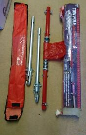 1800kg towing pole tow pole tow rope with damper spring