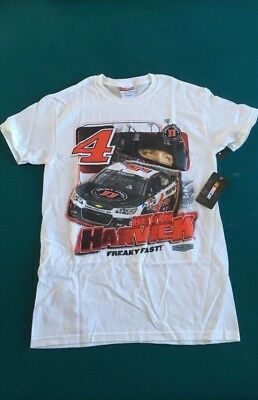 Nascar Kevin Harvick  4 Jimmy Johns Freaky Fast 2 Sided T Shirt Sz Med Or Sm