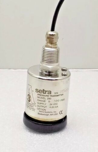 NEW SETRA C290 PRESSURE TRANSMITTER