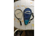 Child's 21 inch tennis racquet and case