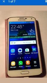 Samsung Galaxy S5 LTE WHITE MOBILE PHONE 16g