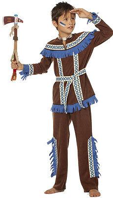 Schneller Hirsch Apache Indianer Kinderkostüm NEU - Jungen Karneval Fasching (Hirsch Kostüme Kinder)