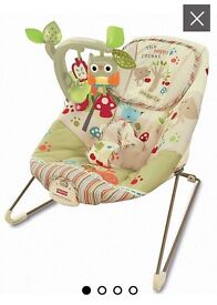 Baby comfy time bouncer