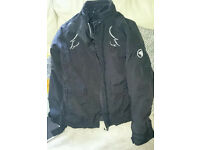 Bering Ladies Motorcycle Jacket Textile Size 8-10