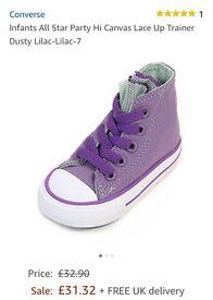 Infant converse boots