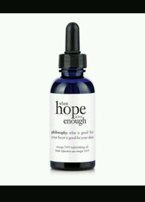 (NEW PHILOSOPHY WHEN HOPE IS NOT ENOUGH OMEGA 3•6•9 FIRMING SERUM .375 0.375 OZ )