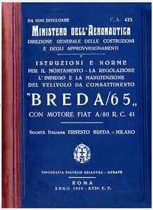 BREDA-65-Ba65-1939-CA425-AIRCRAFT-AVIAZIONE-REGIA-AERONAUTICA-Manual-DVD