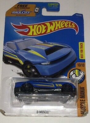 2017 - Hot Wheels - MUSCLE MANIA 10/10 - D-MUSCLE 193/365