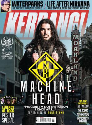 Kerrang  Magazine Jan 2018 Machine Head Fast Eddie Clarke Ville Valo Babymetal