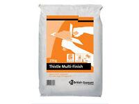 FREE 25kg thistle multi finish plaster