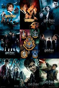 Harry Potter Poster MOVIES COLLECTION large size 61 cm X 91.5 cm BRAND NEW