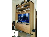 Ikea Tv Unit Stand, Draws and lighting