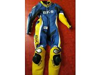 Bks leather suit signed By JT