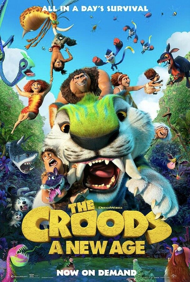 THE CROODS 2: A NEW AGE -2020-