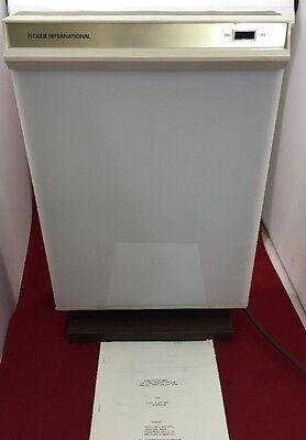 Picker Fvs 4 Lamp Desk Table Top X-ray Illuminator Great Condition Unit 1
