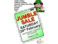 Great Annual Scout Jumble Sale