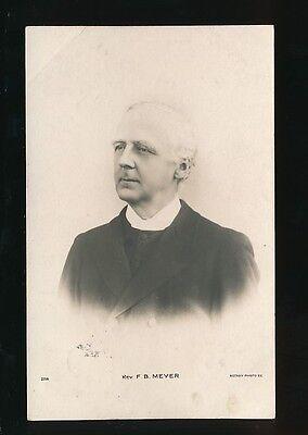 METHODIST Methodism Rev F.B.Meyer Used 1904 RP PPC
