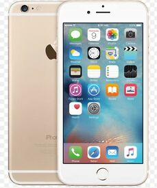 APPLE IPHONE 6 64GB GOLD UNLOCKED MINT CONDITION COMES WITH WARRANTY & RECEIPT
