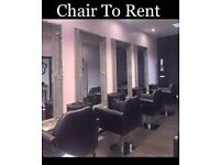 Chair to rent in busy salon, Bathgate