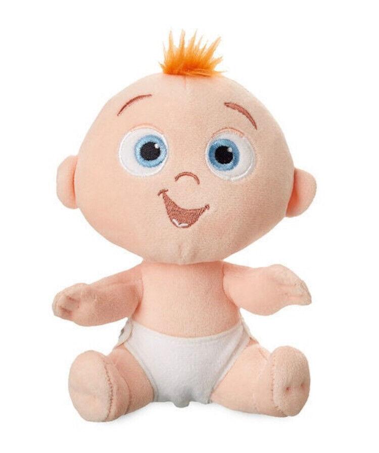 "DISNEY 7"" PLUSH JACK JACK BABY BOY PIXAR INCREDIBLES 2 SMALL"