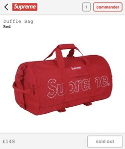 Brand New w Tags - SUPREME Duffle Bag (100% Authentic)