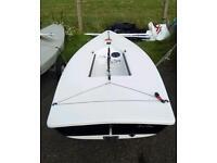 Laser sailing dinghy 135571
