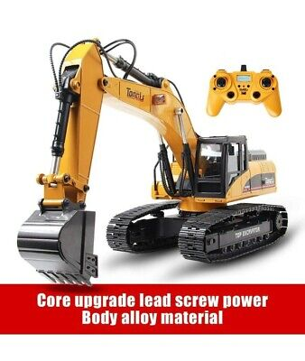 TongLi 580 1:14 Scale All Metal RC Excavator Toy for Adults Remote Control -