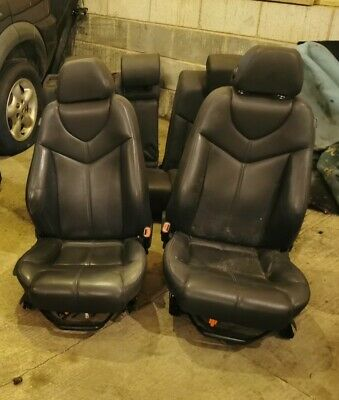 Alfa Romeo GT Black Leather Interior Complete Seats Door Cards front rear seat