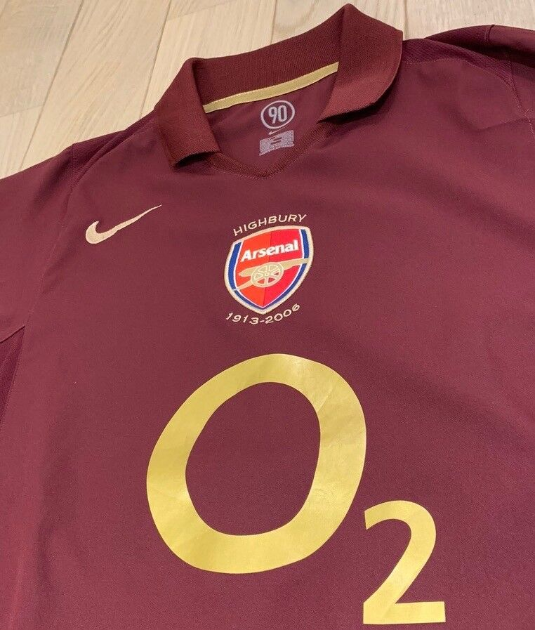 f0650a5c6 Arsenal Nike Football Shirt