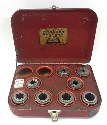 Burnerd Precision Multisize Collet Set Eb4 To Eb11 Made In England