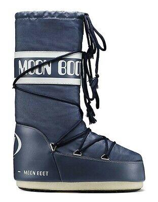 Tecnica Moonboots Nylon denim blue für Damen und - Blaue Stiefel Für Damen
